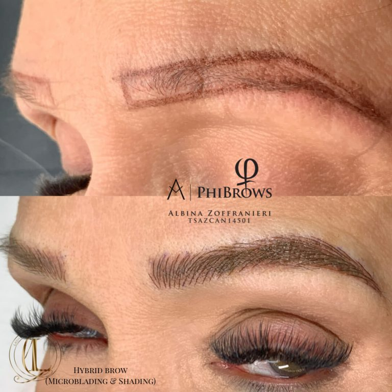 Microblading Pickering Lash Layer