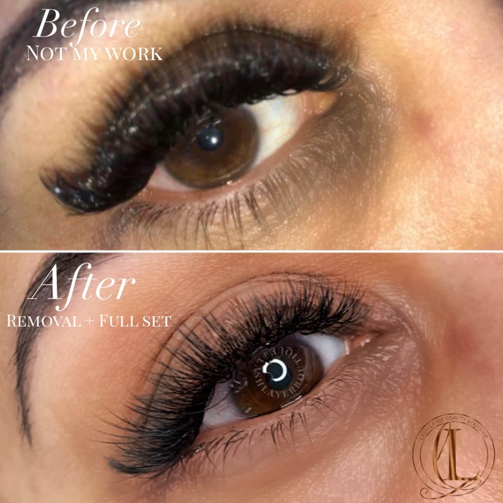 eyelash Extensions pickering Before & After