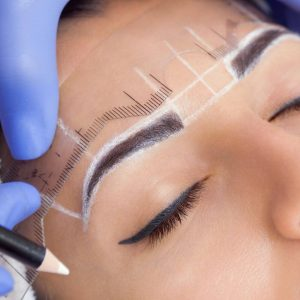 Microblading Pickering Lash Layer Predraw eyebrow