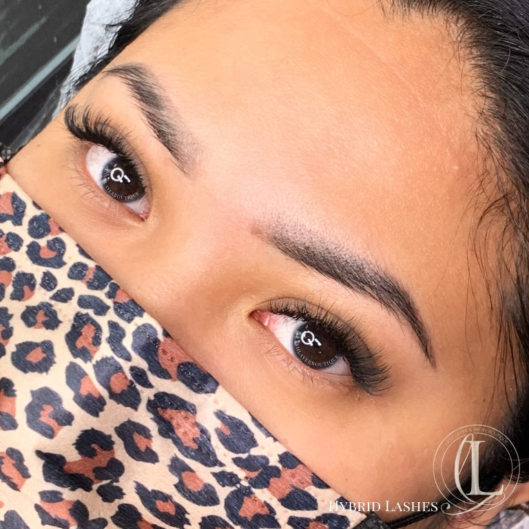 Hybrid Eyelash extensions, pickering