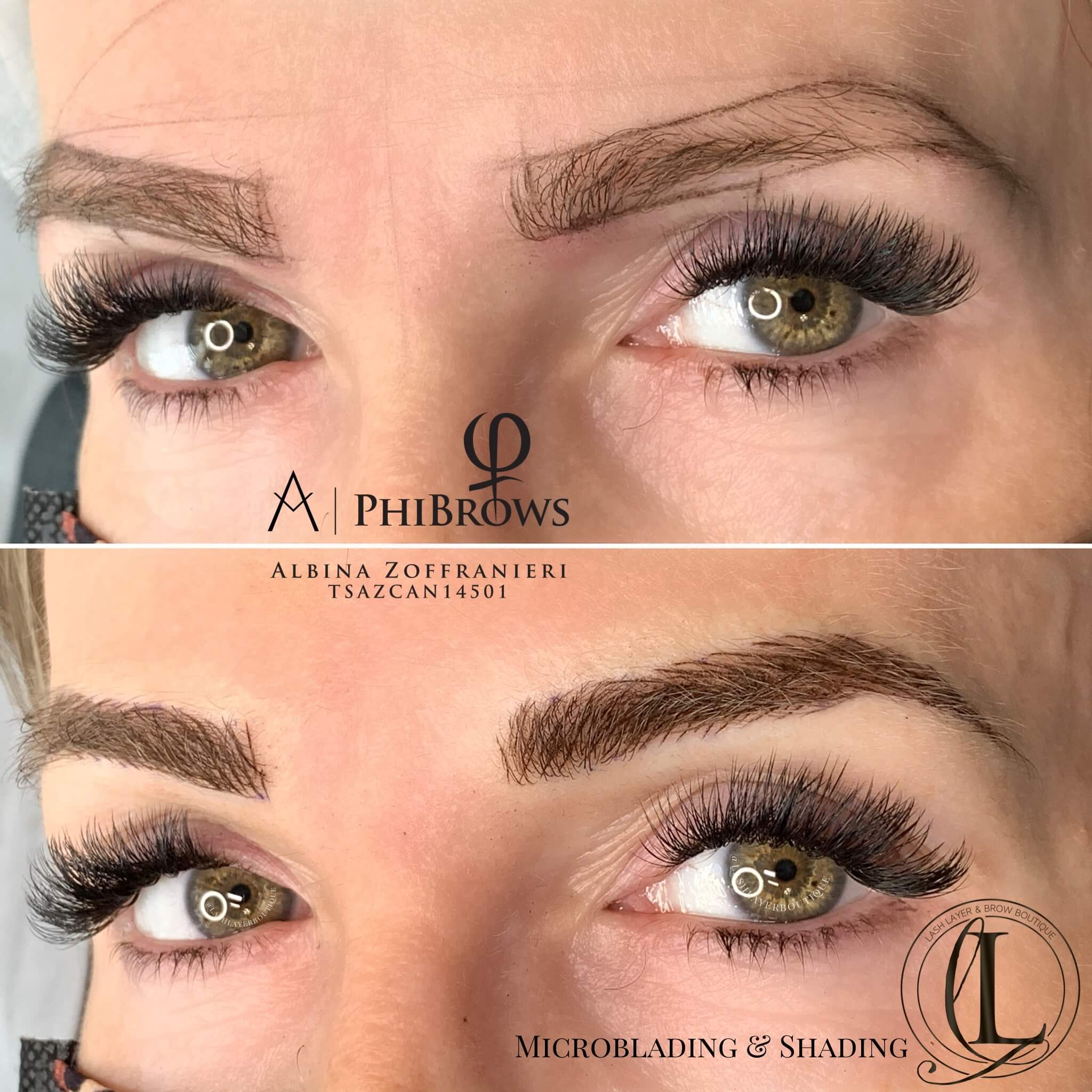 Natural Eyebrows Microblading with Soft Arches | Pickering, ON
