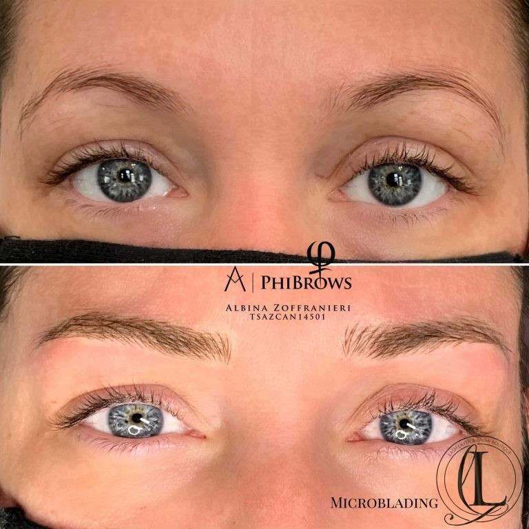 Microblading at Lash Layer Pickering