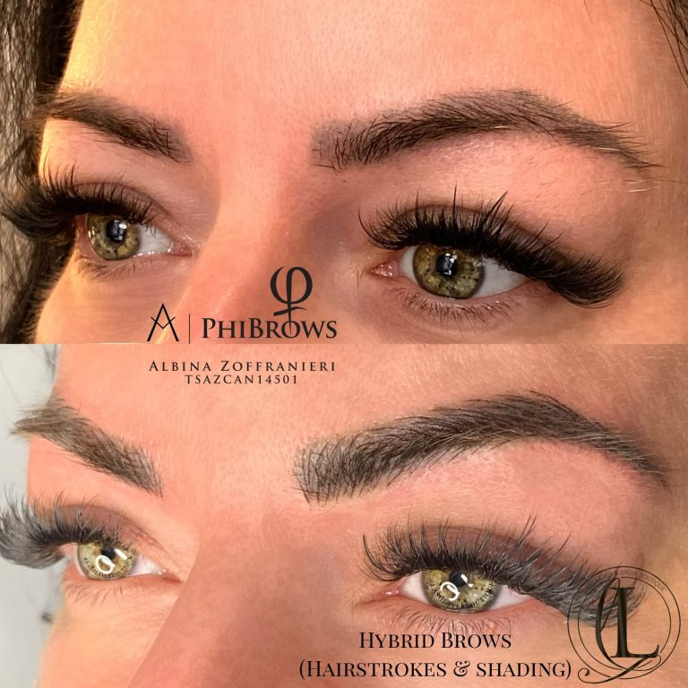 Microblading & shading at Lash Layer Pickering