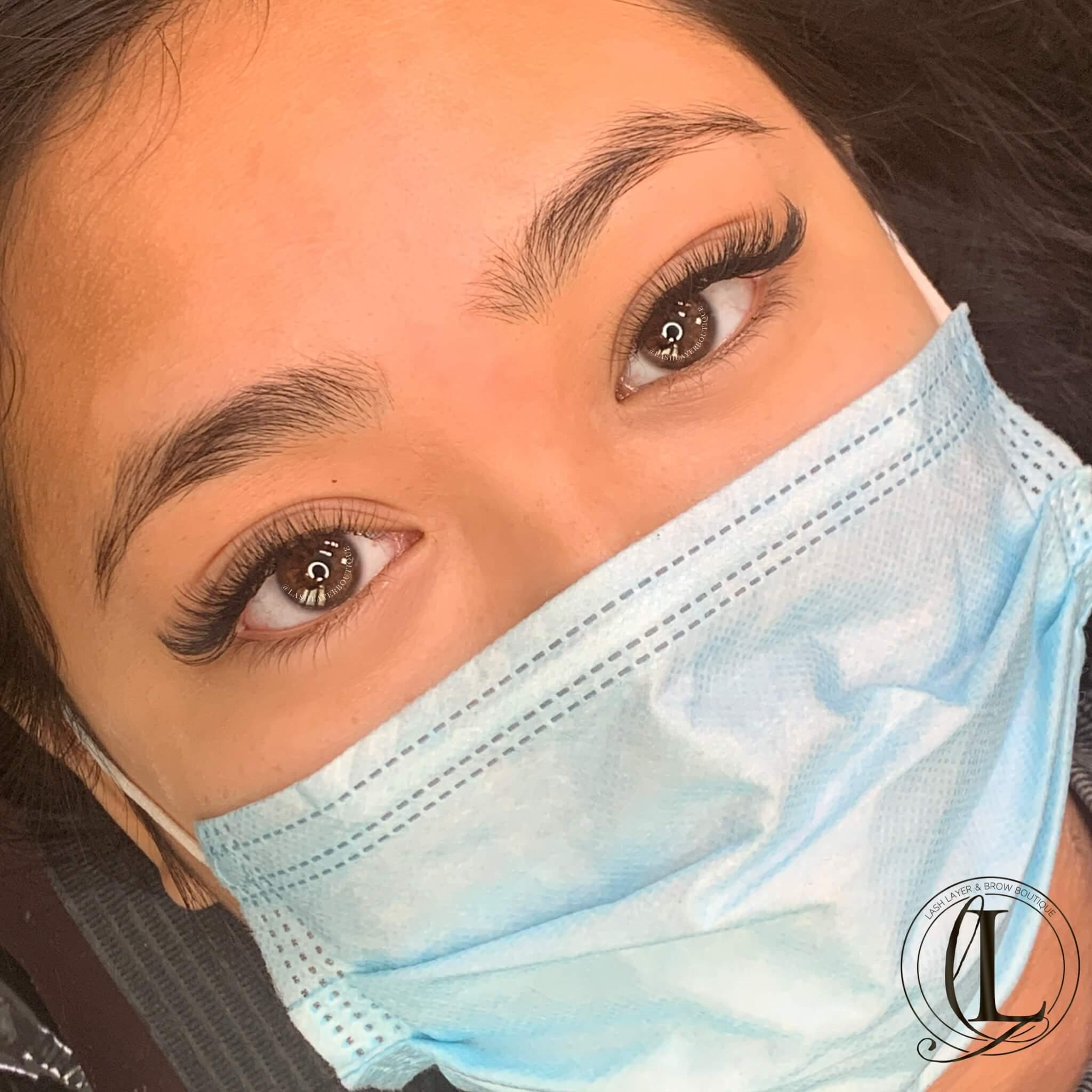 Natutal eyelash extensions LAsh Layer Pickering