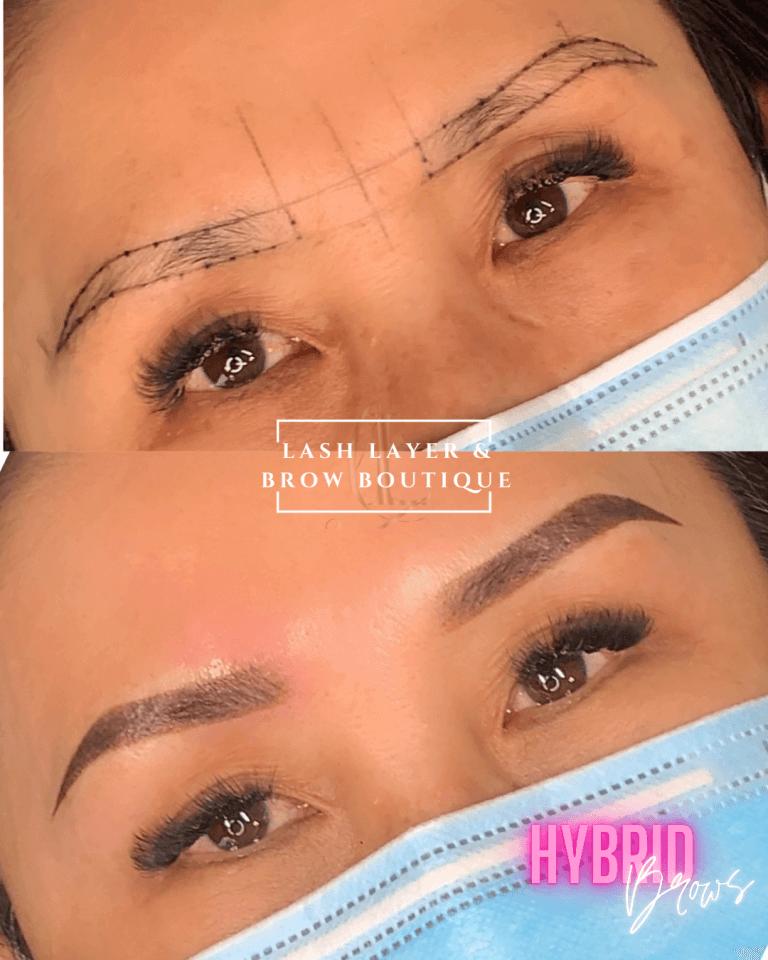 permanent eyebrows in pickering
