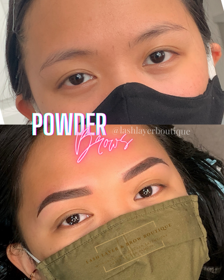 Best Powder Ombre Brows In Pickering at Lash Layer & Brow Boutique