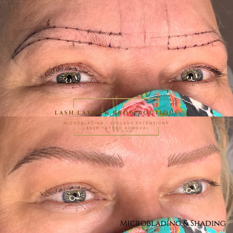 Microblading In Pickering at Lash Layer & Brow Boutique